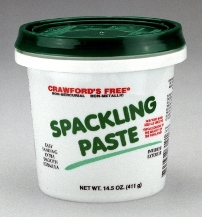 Crawford S Spackling Paste 1 2 Pint Container 304391