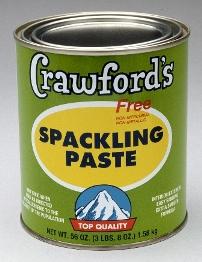 Crawford S Spackling Paste Quart Container 304392